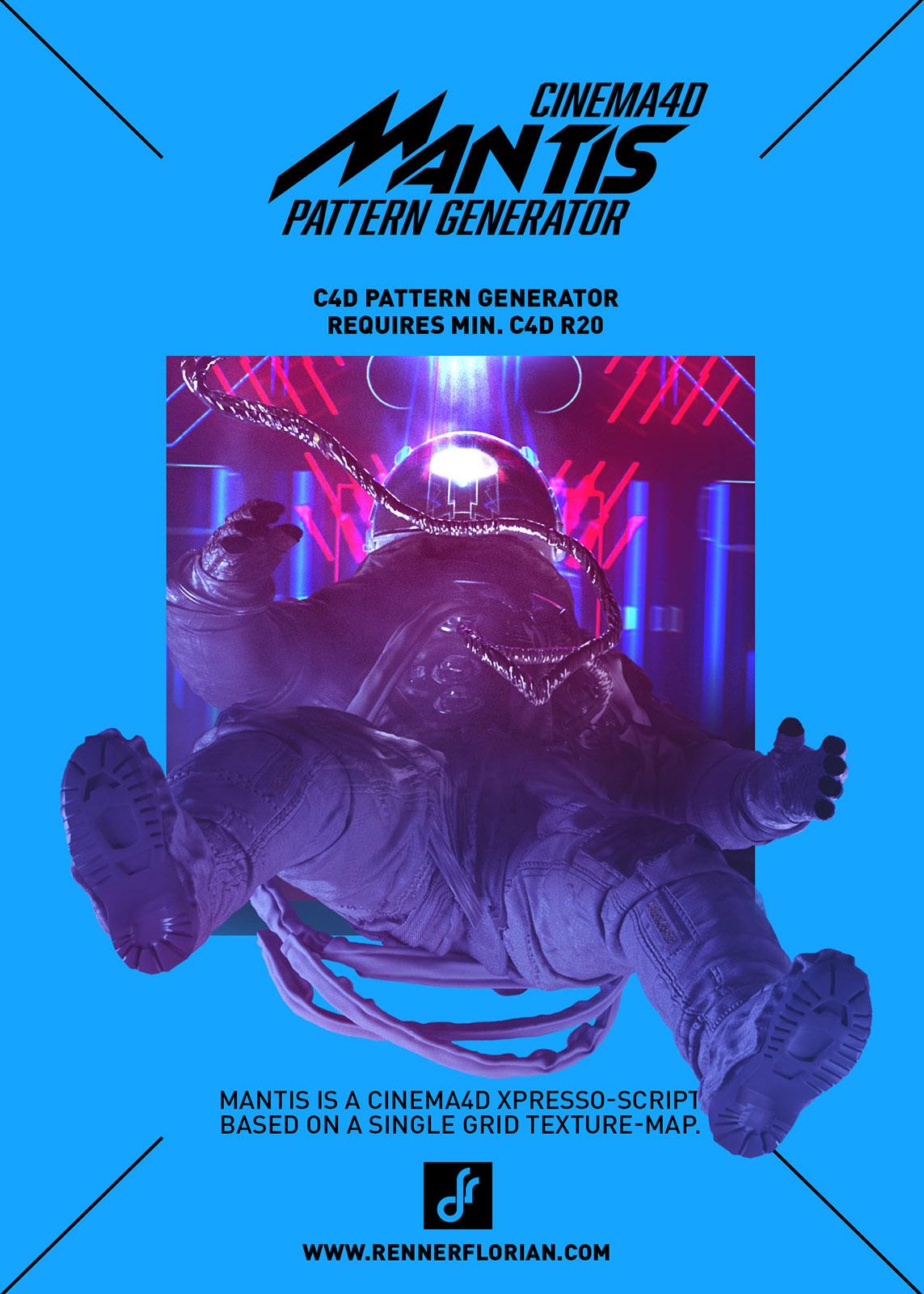 Mantis - Cinema 4D Pattern Generator